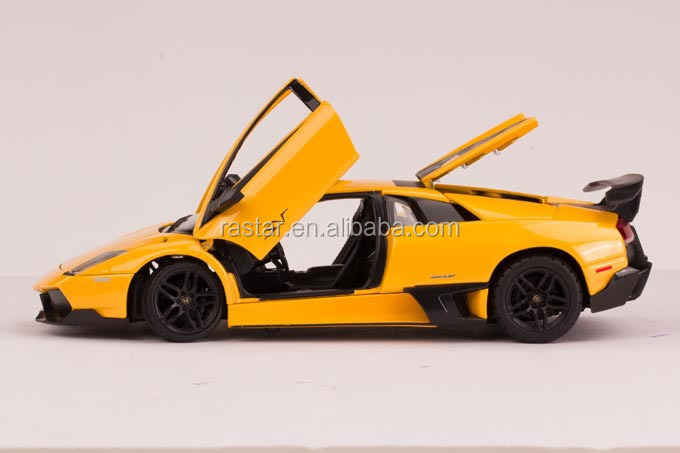 Rastar 1:24 Lamborghini Murcielago Lp760-4 Diecast Luxury Car ...