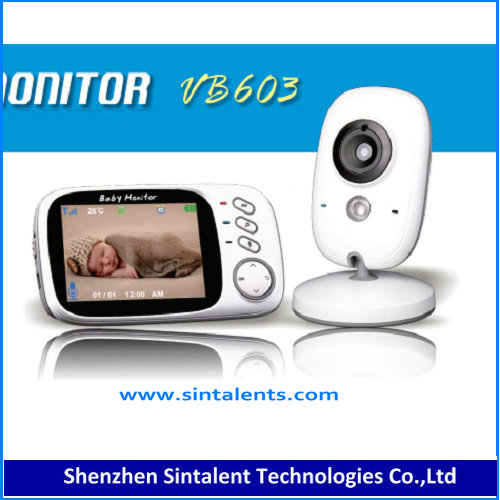 Home Security System CCTV Camera Recorder Wireless Baby Monitor with Smart Phone Viewing