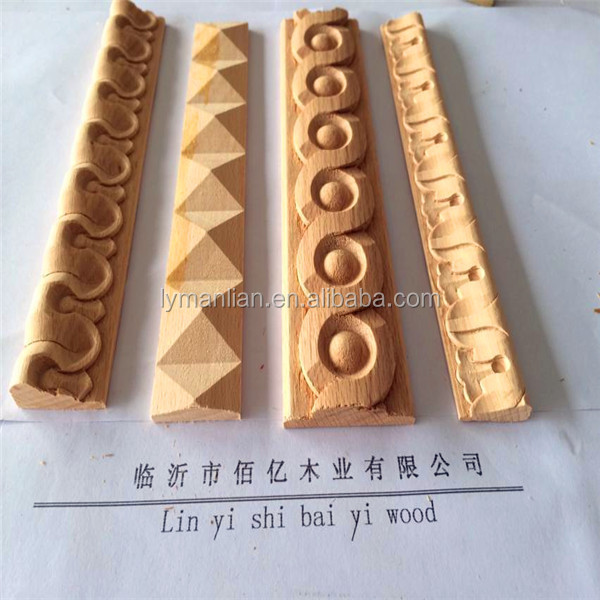 Hand Carved Wood Moulding Decorative Wooden Molding