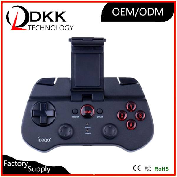 Cheap wireless bluetooth mobile phone joystick for IOS android video game controller