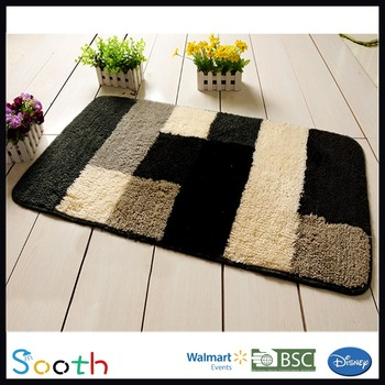 Extra Large Patterned Bath Rugs Plush Bathroom