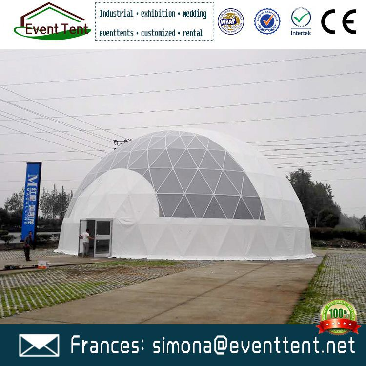 Professional car park tent Geodesic Dome Projection for family