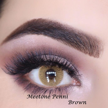 accept oem brand meetone penni brown natural color contact lenses
