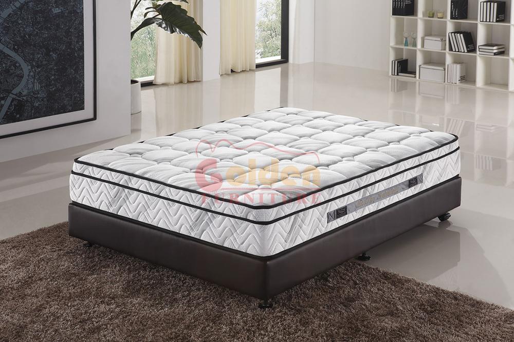Luxury Bedroom Furniture China Mattress Sleepwell Cool Gel ...
