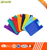 Factory silicone cell phone case card holder silicone card holder wallet
