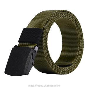 Hot sale Automatic Buckle Men Canvas Belts Male Army Tactical Belt Men's Military Waist Nylon Strap Male Fashion Casual Belt