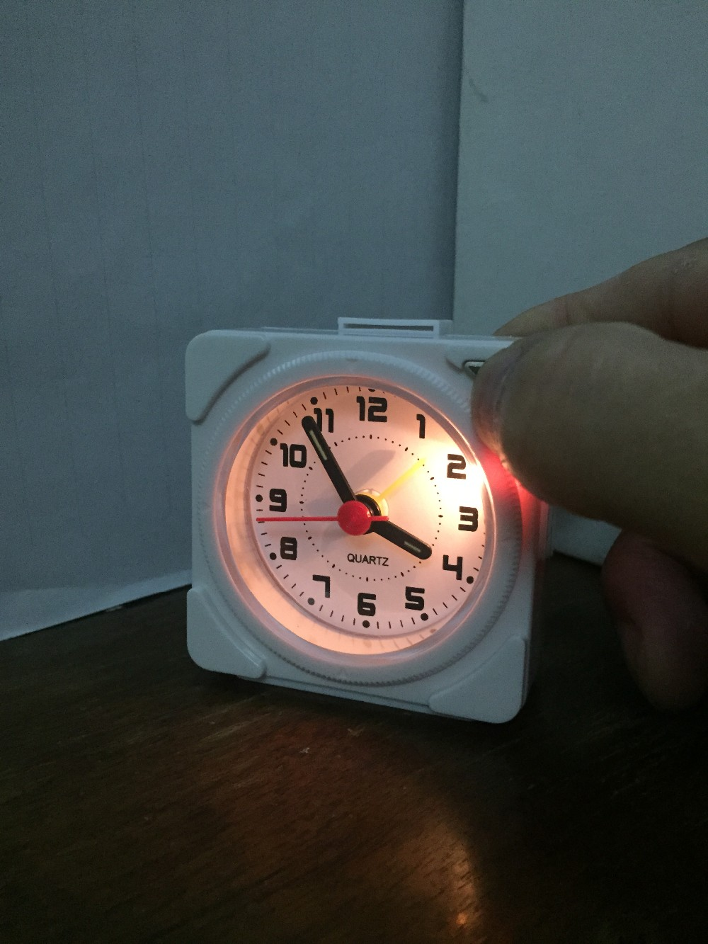 With Snooze With Light Silent Travel Alarm Clock New Style