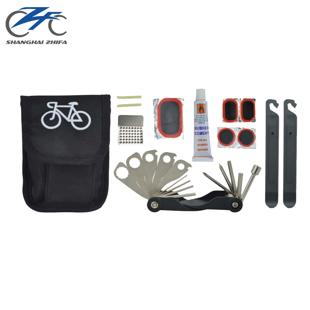 Polyester Triathlon Bag Rotary Kit Small Whole Set Folding Bicycle Repairing Hand Pocket Bike Tool