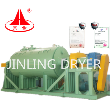 ZHG Jingling Industrial Low price Industrial Vacuum Paddle Dryer/Drying Machine for Sodium propylene sulfonate
