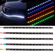 FY mode 15 LEDs 30 cm 1210 SMD LED Streifen Licht Flexible 12 V Auto Decor Wasserdicht NEW fashion Innen zubehör Ornamente
