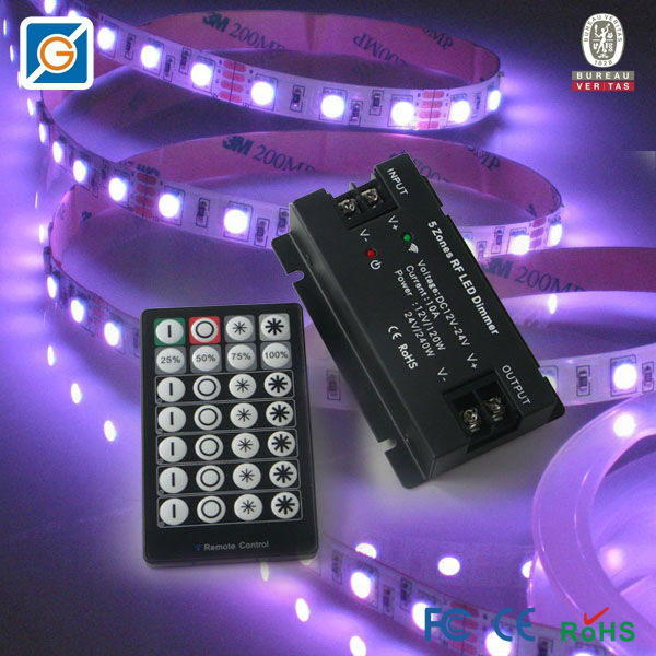 Multi Zone Remote Control Led Strip Dimmer Switch China
