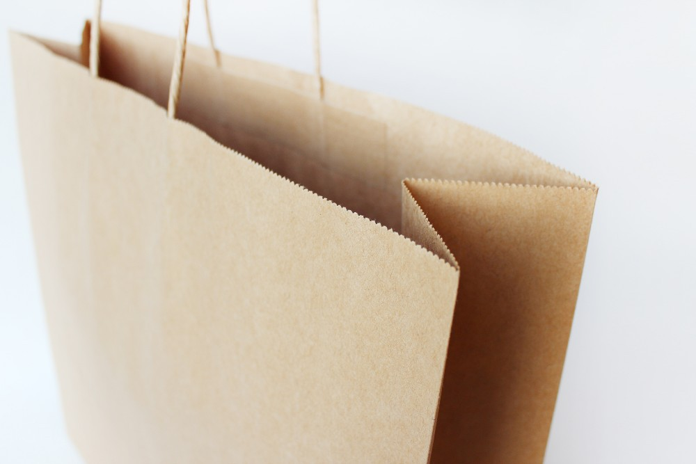 New products 2016 customized printing kraft paper bags wholesale