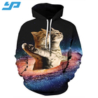 Light sun comfortable breathable printing healthy for skin sports hoodies