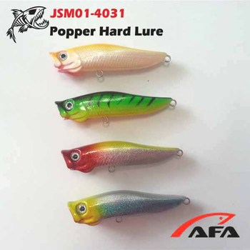New Model Design Popper Hard Lure,Fishing Plug Jsm01-4031