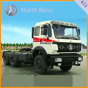 North benz 6x4 Tractor Truck /Trailer Trucks/ Tractor Head For Sale