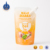 Custom transparent clear plastic liquid drinking packaging bag juice pouch with spout