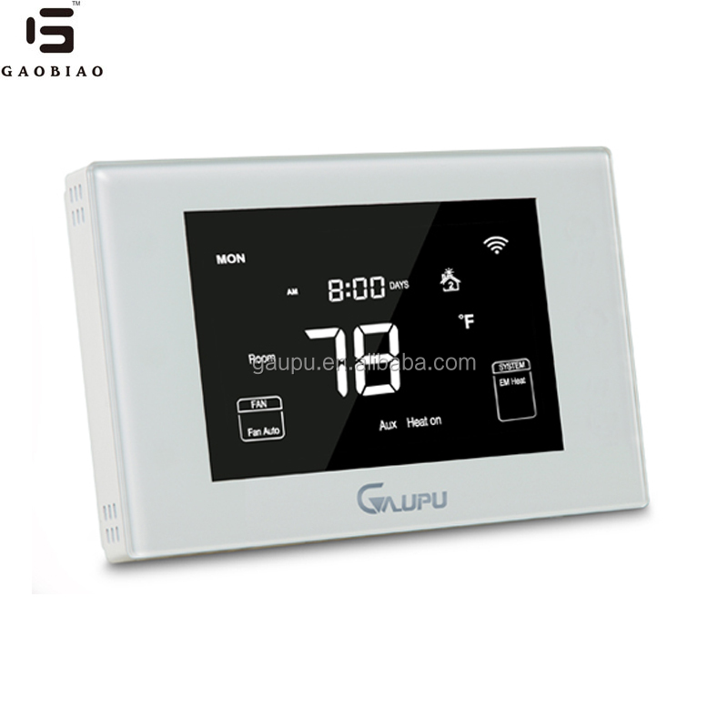 Gaupu GM6-HP WIFI thermostat remote control thermostat heating and cooling room thermostat