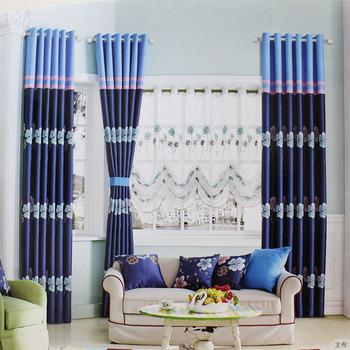 100% Polyester Jacquard Modèle De Rideau De Rideau De Salon