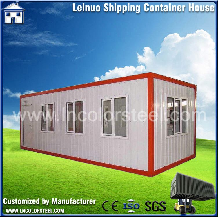 Low cost ecological container house luxury prefabricated