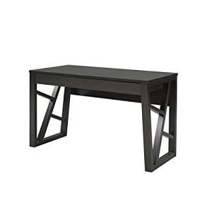Office Desk Furniture, Office Desk Organizer, Workstation Desks, Writing Desks, Made Of Wood And MDF For Durability, Espresso Finish