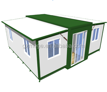 20ft expandable folding container house, View living container house, MEGE  Shelters Product Details from MEGE Shelters Inc  on Alibaba com