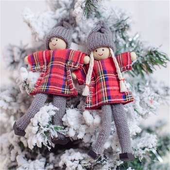 Factory supply handmade christmas hanging decorations christmas ornament 2019 new christmas elf