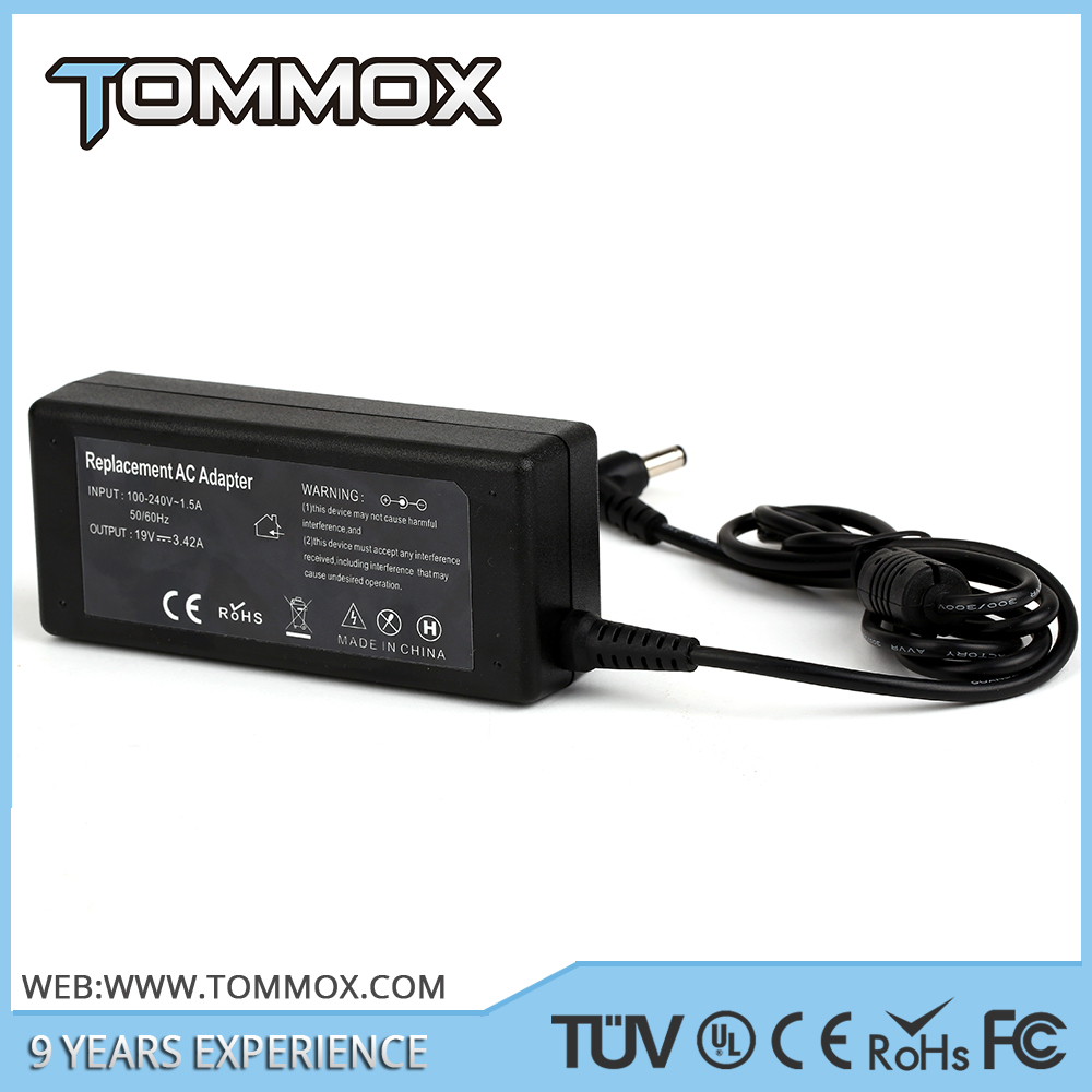 new 65W 19.5V 3.34A power ac dc adapter for dell PA-12 adapter 4.0*1.7mm