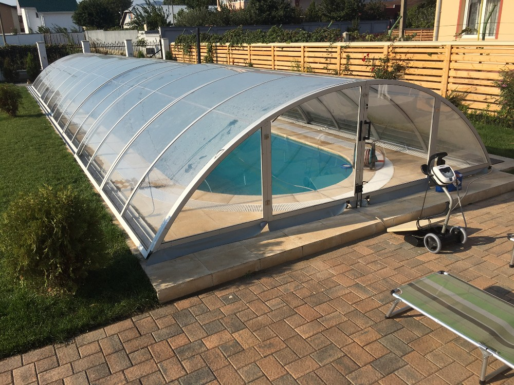 Anti uv protection pool domes screen pool enclosure cost - Swimming pool screen enclosures cost ...