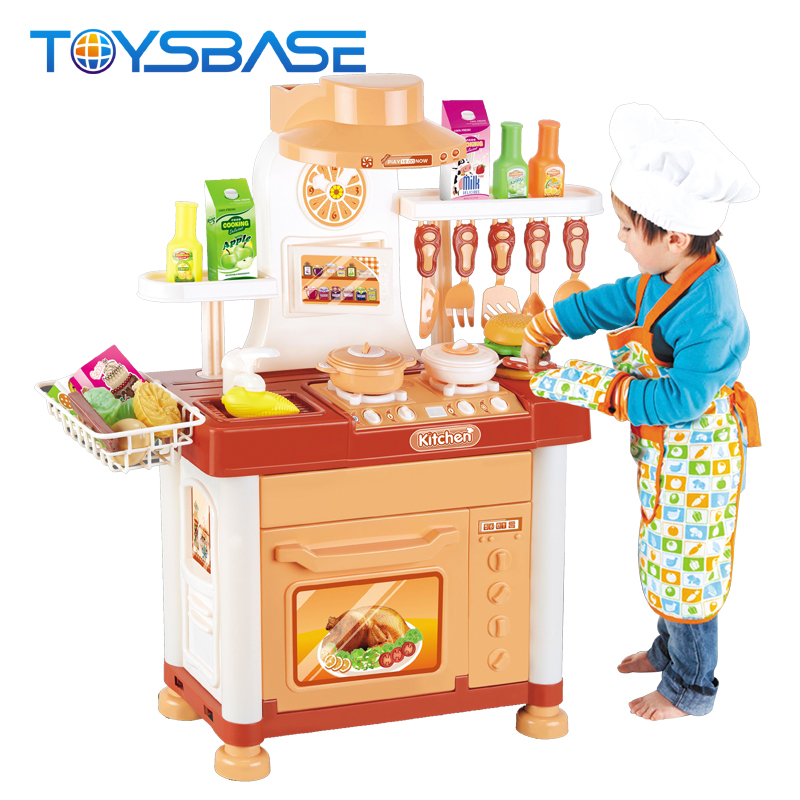 Kitchen Article Set New Play House Tableware Table With Light