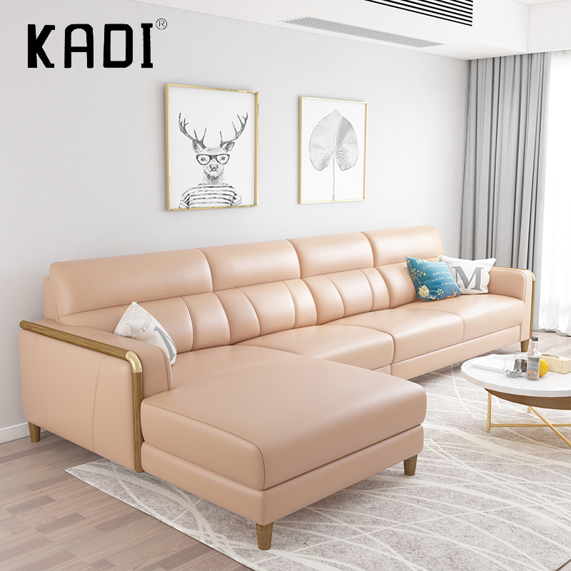 Modern Italian Leather Sofas L Shaped