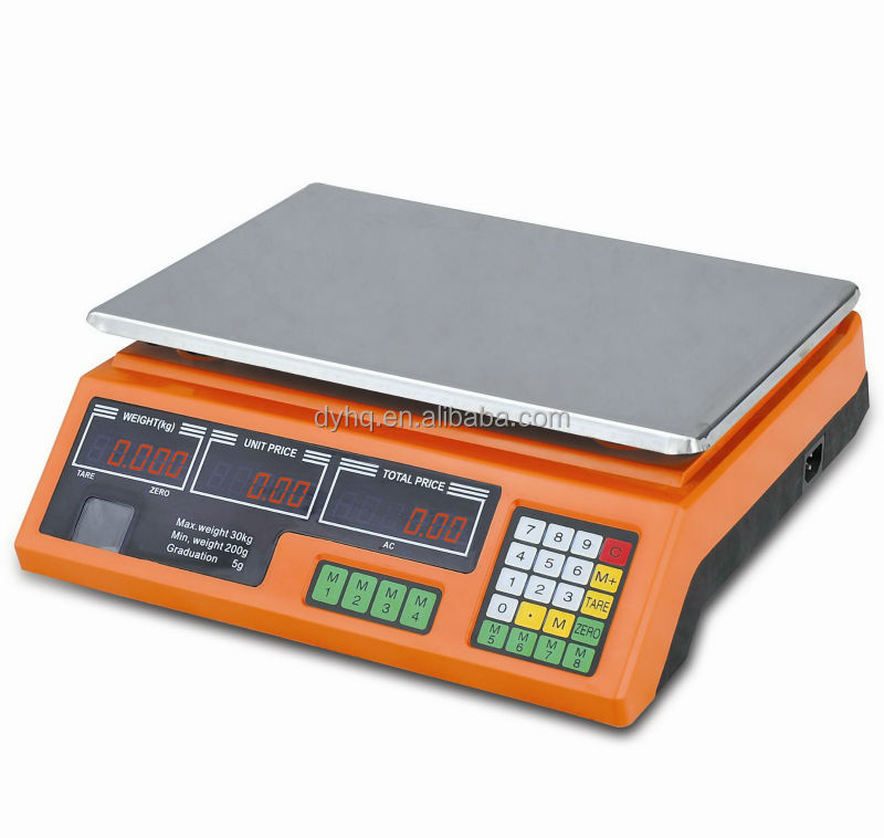 Universal Electronic Price Computing Scale Dy-208