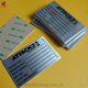 Custom Print 1mm Thickness Aluminum Name Plate