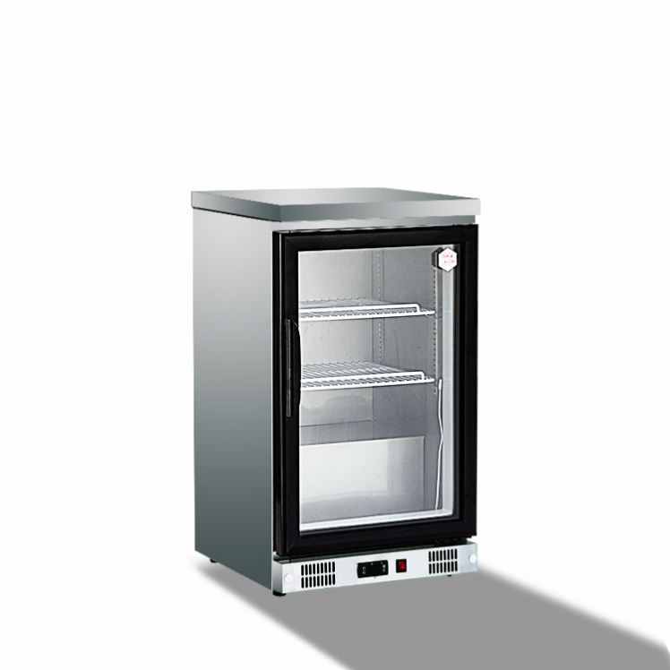 Commercial Display Refrigerator Showcase, Supermarket Refrigeration Cabinet, 3 Glass door Wine/Beer/restaurant fridge