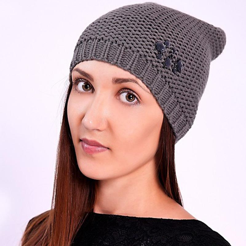 Get Quotations · 2015 Wholesale Cheap Grey Wool Knitted Crochet Cap  Skullies for Women Men Winter Touca High Quality 99782d455f3