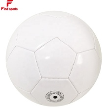 size 5 size 1 self printing logo cutomerized soccer plain white football for promotion ball select