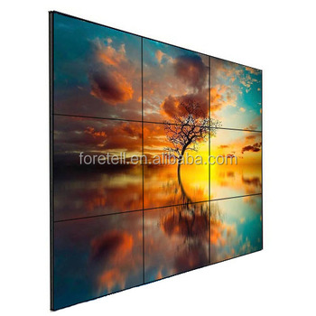 42 Inch DID LCD Screen 3X3 Big size Lcd Video Wall for conference or Commercial Display