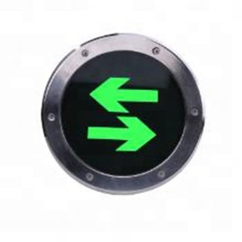 LST model 140H illuminate exit signage ground exit sign rechargeable exit sign