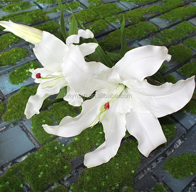 Hot Sale Cheap Real Touch Latex Lily Artificial Flower