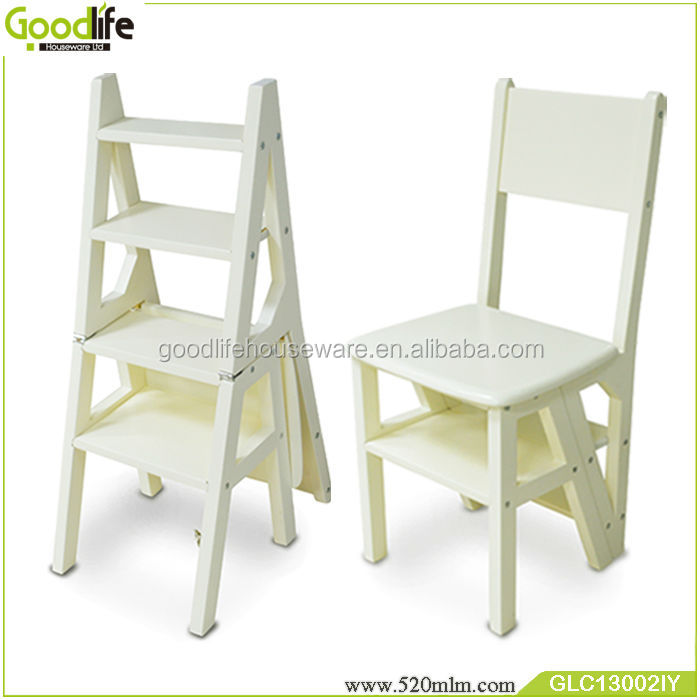 Genial Goodlife New Multi Function Wooden Step Ladder Chair   Buy Ladder Chair,Folding  Ladder Chair,Wooden Ladder Chair Product On Alibaba.com