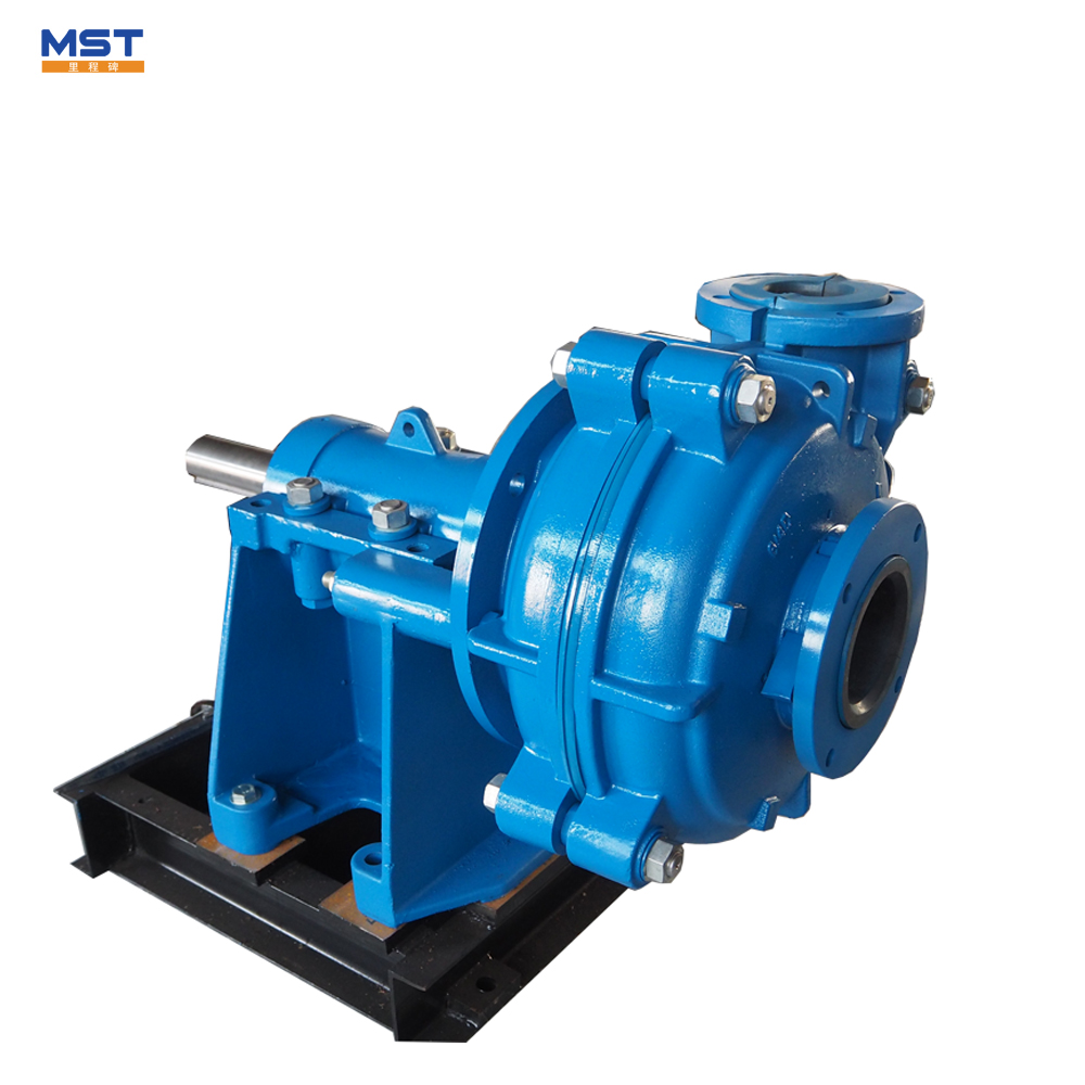 High Head Wear Resistant Rubber construction dewatering pump