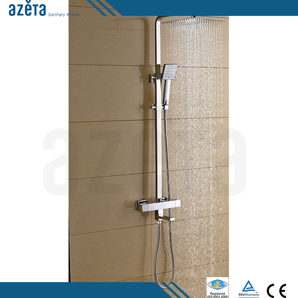 Thermostatic Water Bath Faucet With Head Shower Thermostatic Shower Mixer Set