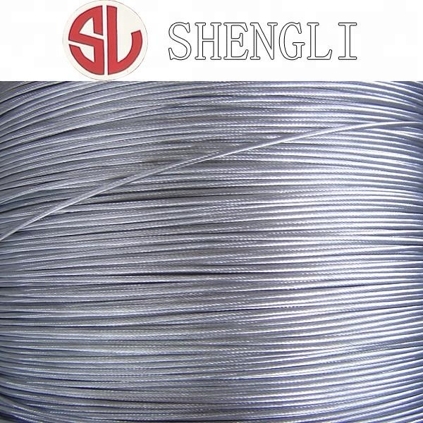 Capacity Of Steel Wire Rope 1*19 Zinc Coated Steel Wire Rope