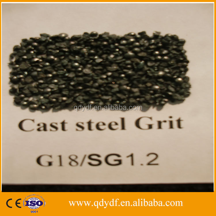 YDF-SG-18 low price cast steel grit price for sand blasting