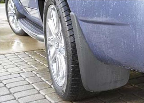 OEM Chrysler Aspen Black Molded Mud Flaps Splash Guards 82210640 Rear