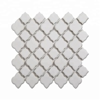 Good Quality Wholesale White Ceramic Lantern Mosaic Tile Backsplash