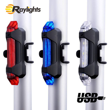 Hot Selling Rechargeable Bicycle Front Rear Light Set USB Cycling Rear Light