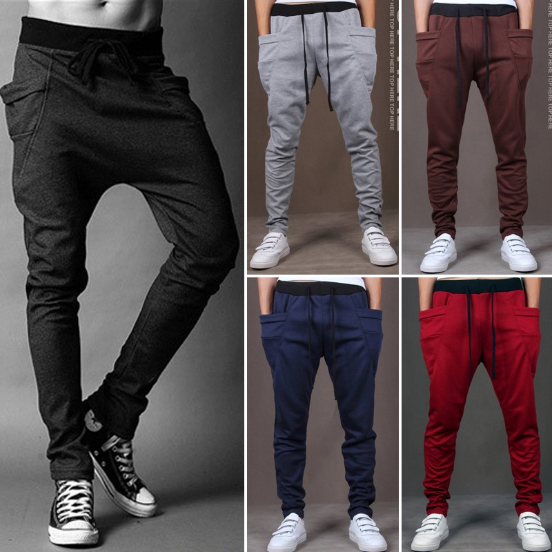 New Fashion Sweatpants Trousers Latest Design Men Harem Pants ...