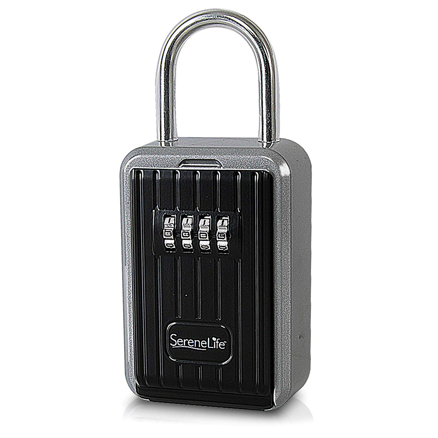 Combination Lock Box Key Storage Lock Box 4-digit Combination Lock Waterproof Indoor/outdoor Crease-Resistance Kleidung & Accessoires