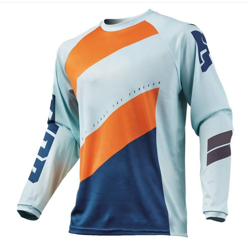 DH MX downhill motocross racing jersey motorcycle long sleeve t shirt custom made motocross jersey