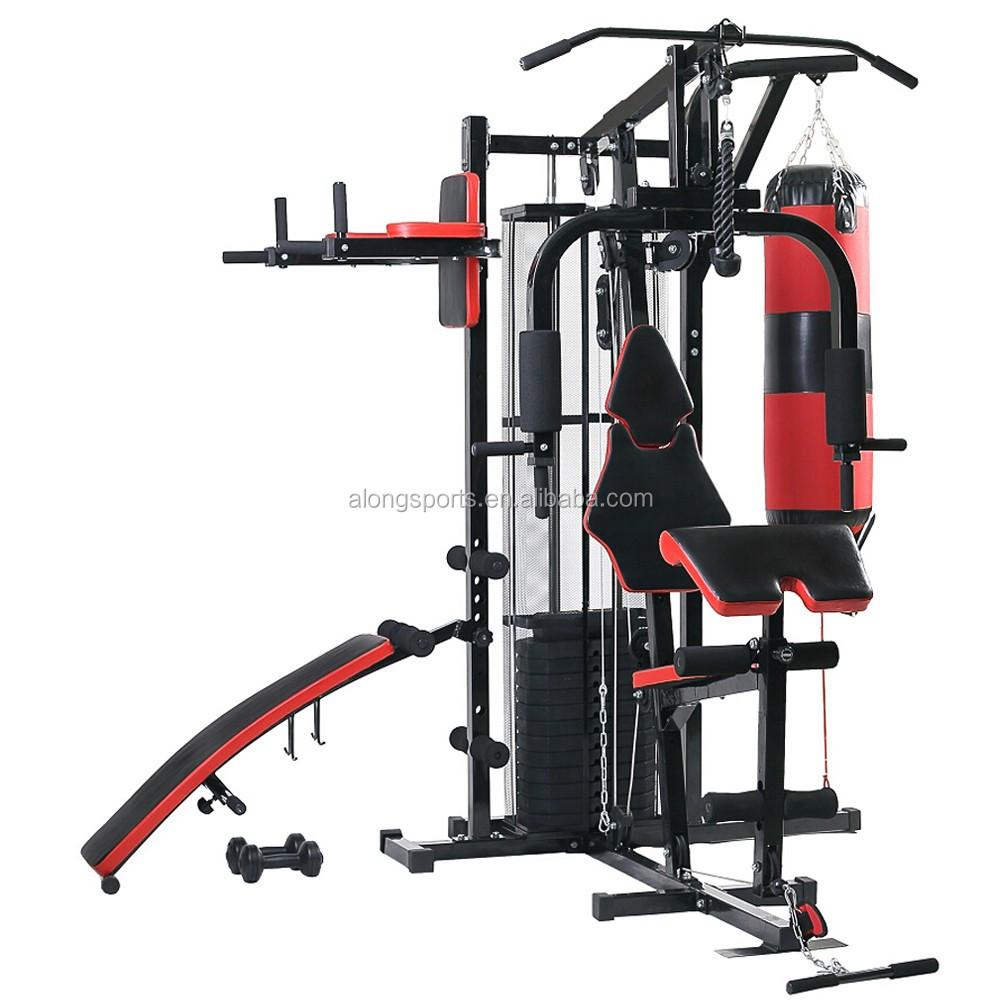 new multi gym 100kg weights kraftstatio fitness equipment. Black Bedroom Furniture Sets. Home Design Ideas